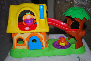 Playskool Weebles Goldilocks Adventure Cottage Brandedtoys