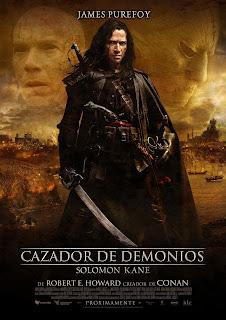 Cazador de Demonios: Solomon Kane Poster