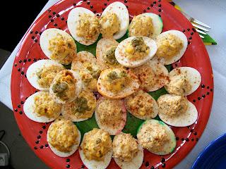 Poland, Polska, deviled eggs, Easter, Breakfast, Wielkanoc, Warsaw