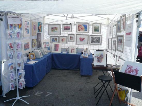 Exhibition Booth Setup : The artist s husband art show necessities