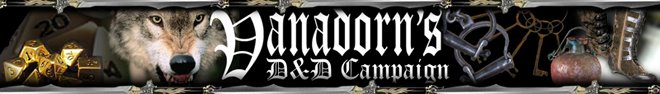 Vanadorn D&amp;D Campaign