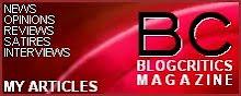 Writer for Blogcritics Magazine