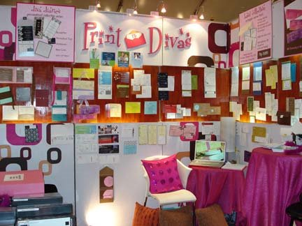 Pretty In Pink during Bridal Fairs