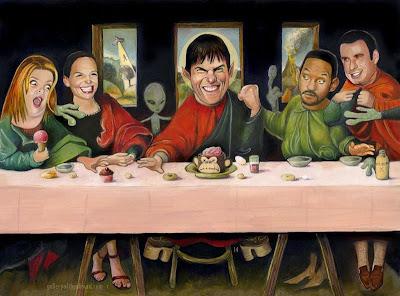 scientology last  supper
