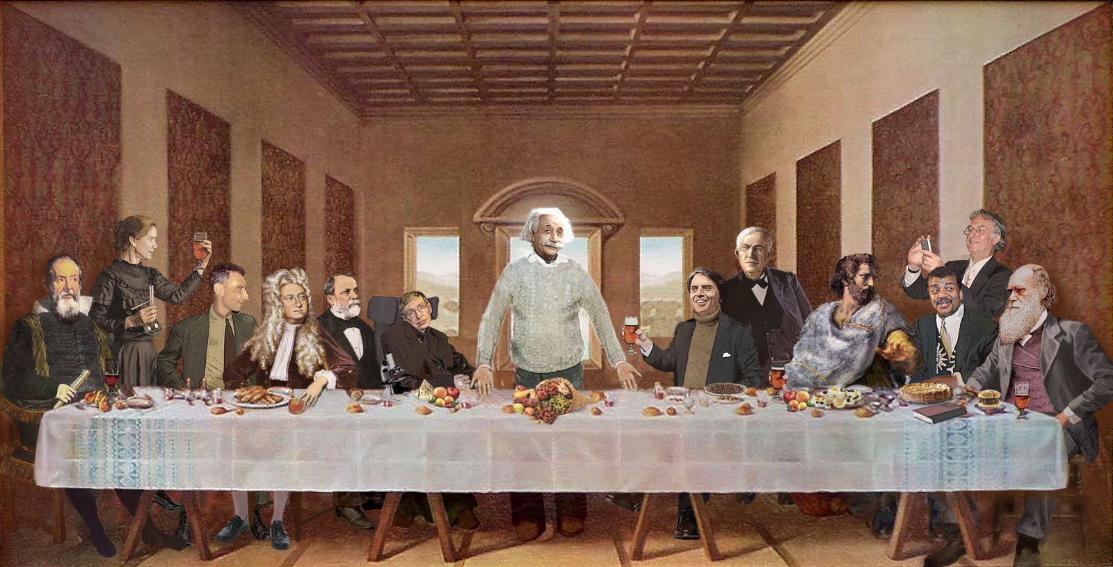 Resultado de imagen para 12 MEN MOON WALKERS LAST SUPPER