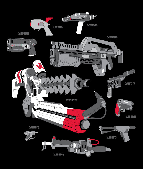 9 More Crazy Weapons: Popped Culture: Sci-Fi Armory: For All Your Alien Blasting