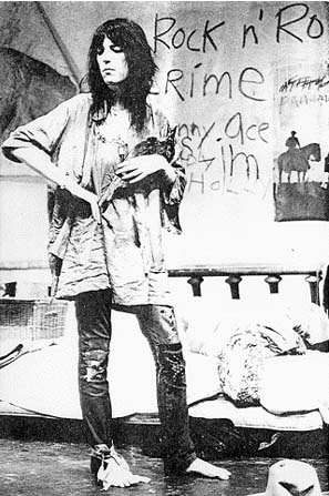 Patti Smith: So you want to be (a Rock'n Roll Star)