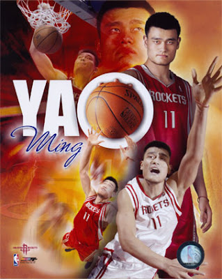 Well, technically, Yao is only Asian, seeing that he was born in ...