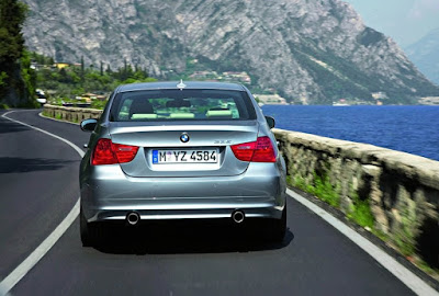 BMW E90 Series rear picture