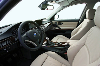 BMW E90 Series interior picture