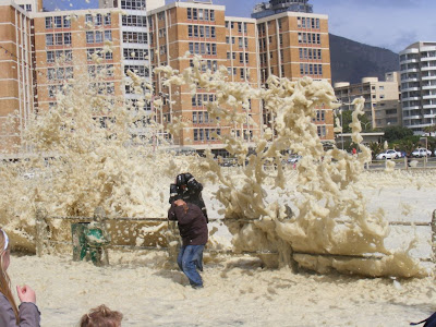 pictures of the 2008 storm that hit cape town south africa
