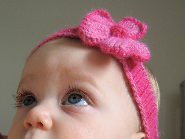 Id Rather Be Knitting Spring Baby Headband