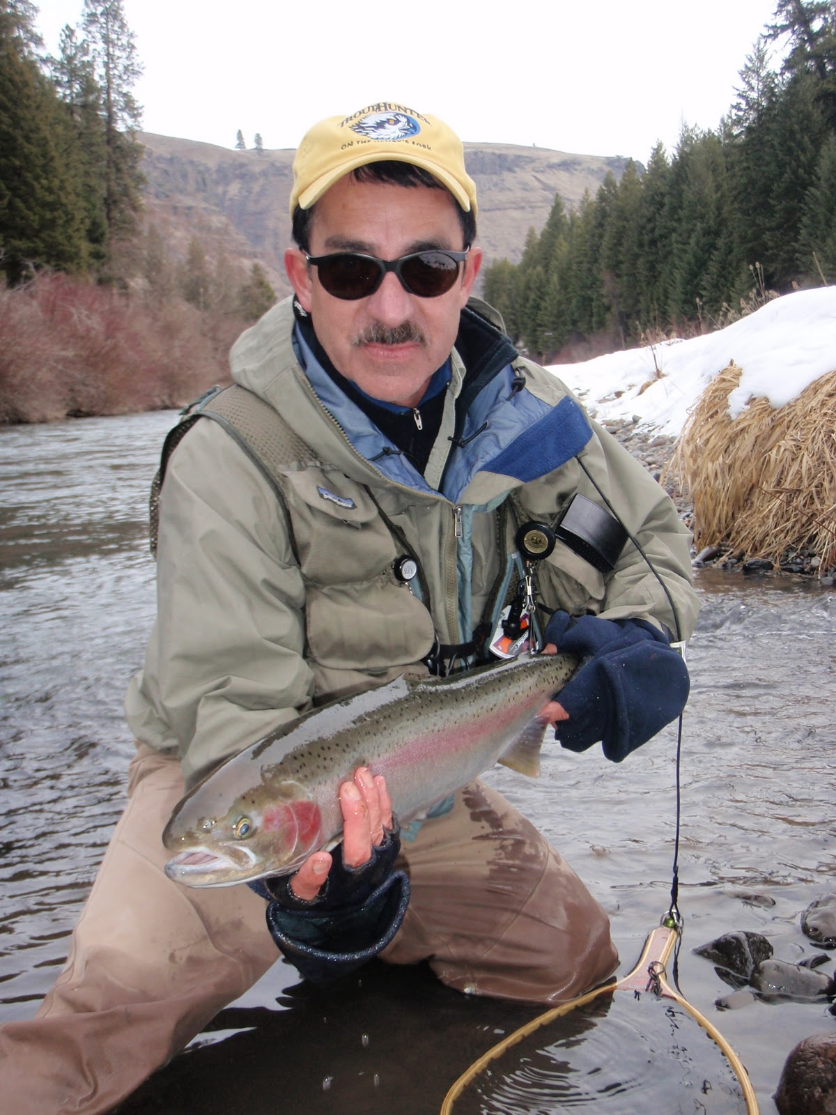 Fly fishing adventures steelheading on the wallowa river for Oregon steelhead fishing