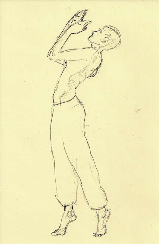 Figure Drawing How To Draw A Person Standing And Walking On Tiptoe
