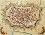 Antica piantina della Città di Lucca