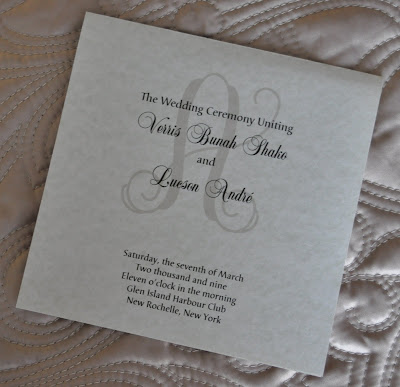 Layout Mary Wedding Program