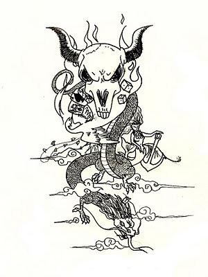 Dragon Tattoos ( 3 )