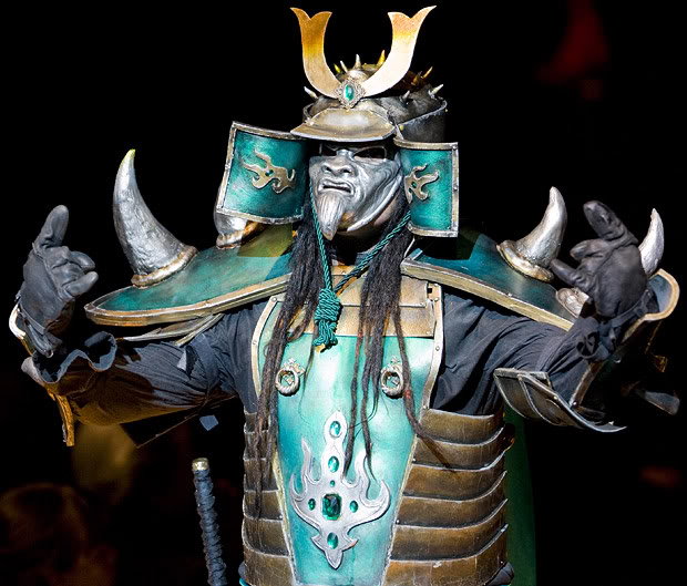 Shogun Body Painting
