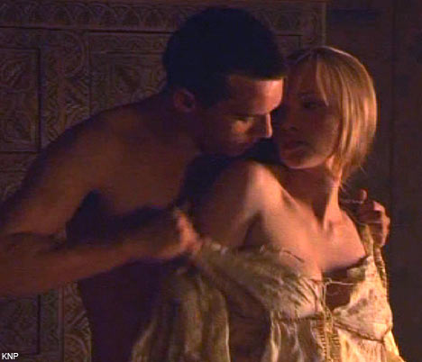 tudors+disrobing Henry ripping the bodice off yet another Lady in Waiting!