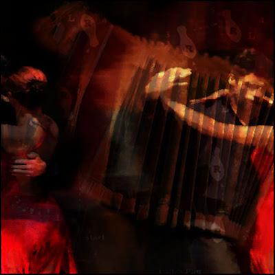 Martin Hoogeboom 'Tango' mixed media
