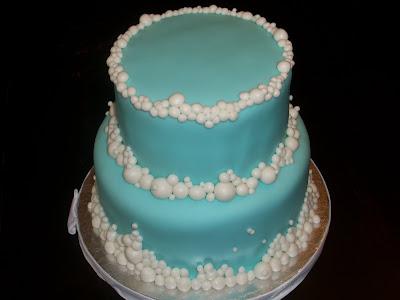 Sweet Pea Cake Company Bubble Wedding Cake