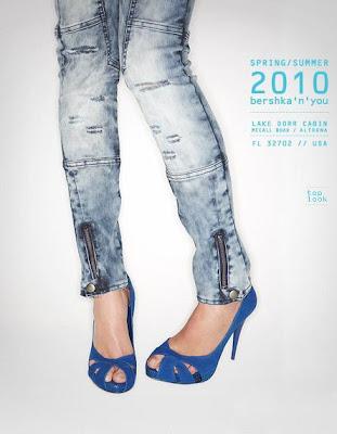 Bershka 2010 �lkbahar - Yaz Bayan Jean Modelleri