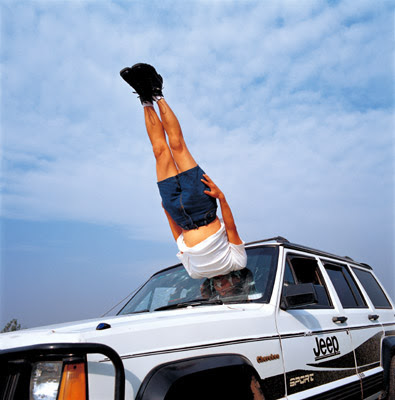 Li Wei photo, man straight in the window of a car