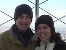 Jared and I at top of Empire State Building