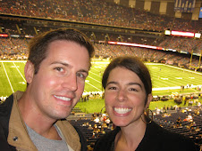 Jared and I at Saints Game