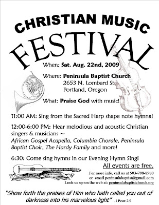Christian Music Festivals