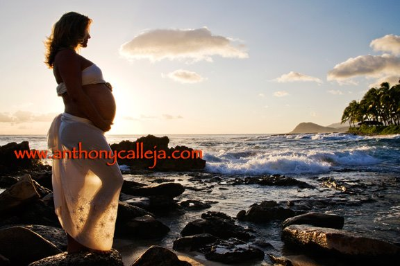 Hawaii Maternity Photos
