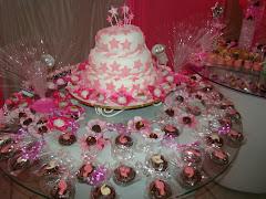 bolo que fiz no aniversario da minha filha