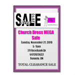 Church Dress MEGA Sale