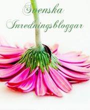 Jag är med i Svenskainredningbloggar