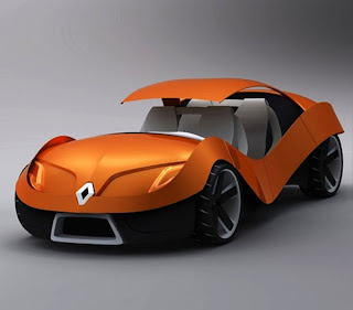 New inspiration design concept car