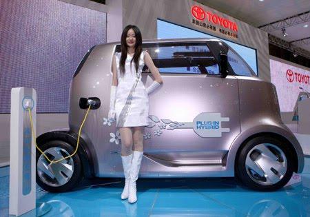 New Modern Design Toyota Hi-Ct Concept Car