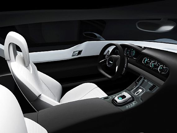 ... saab aero x concept car ...