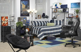 Luxury Decorating Dorm Room Design- very simple good design for decorating