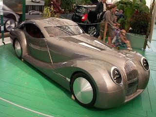 Morgan Fuel-Cell Futuristic Concept Car