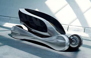 Modern design Futuristic Galapagos concept car