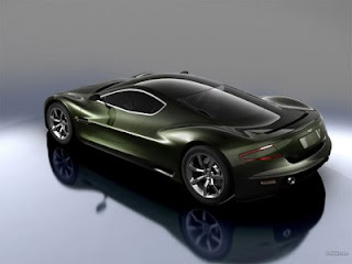 Exotic design Aston Martin AMV10 concept car
