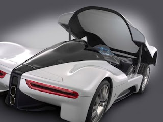 New design futuristic Sintesi concept car for future