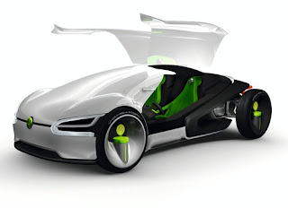 New Modern Design Futuristic 2028 Volkswagen concept car for Future