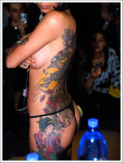 Japanese Sexy Body Art Tattoo