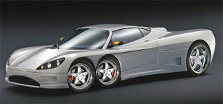 C6W, car, Covini, Italian vision, odd, supercar, two-seater