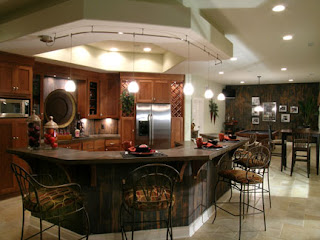 Modern Corner Kitchen Interior Design Ideas