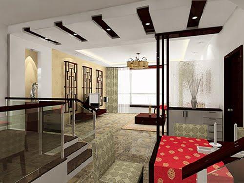 modern chinese interior decoration - home interior design