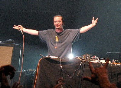 Mike Patton Arena Santiago por Zara Hormazabal