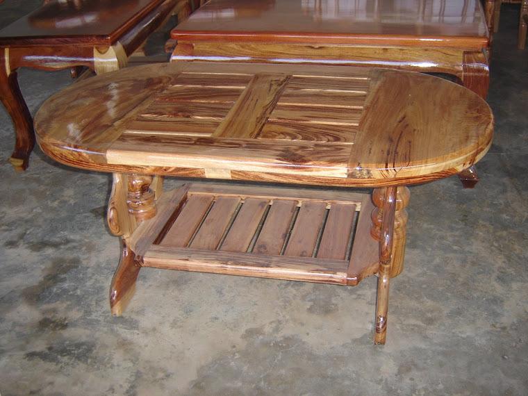 โต๊ะกลาง ไม้ระแนง