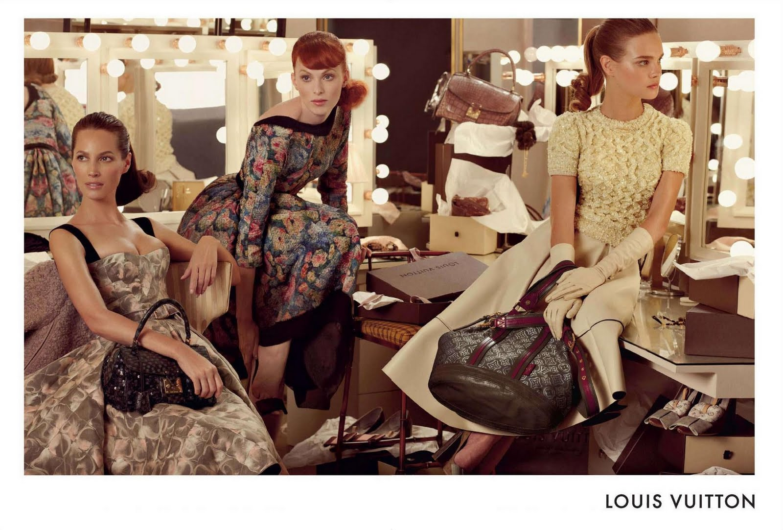the Sunday Girls: Ad Campaign: Louis Vuitton A/W 2010-2011